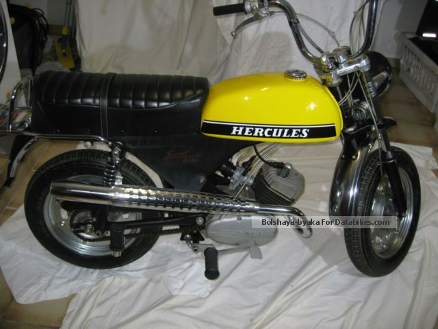 Hercules  Sportbike 1972 Vintage, Classic and Old Bikes photo