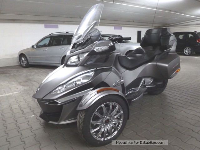 2014 Bombardier  Can Am Spyder RT Limited 85kw Rotax 1330 Dreizyl Motorcycle Trike photo