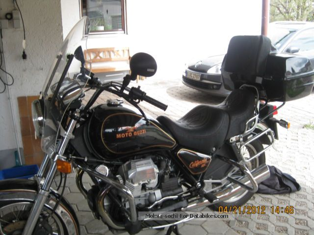 Moto Guzzi  T3 California 1989 Chopper/Cruiser photo