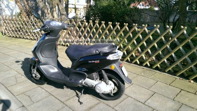 2010 Derbi  Bouleard 50 2 stroke (made by Vespa / Piagio) Motorcycle Scooter photo