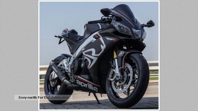 2013 Aprilia  RSV4 APRC, matte black, gear shift assist, ABS Motorcycle Sports/Super Sports Bike photo