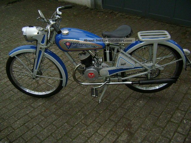 VICTORY  Vicotria V99BL 1951 Vintage, Classic and Old Bikes photo