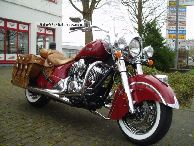 2015 Indian  Vintage red Motorcycle Chopper/Cruiser photo