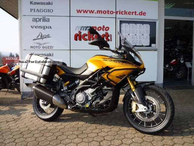 2012 Aprilia  CAPONORD 1200 RALLY ABS / ASR / ADD KALAHARI EDITION Motorcycle Motorcycle photo