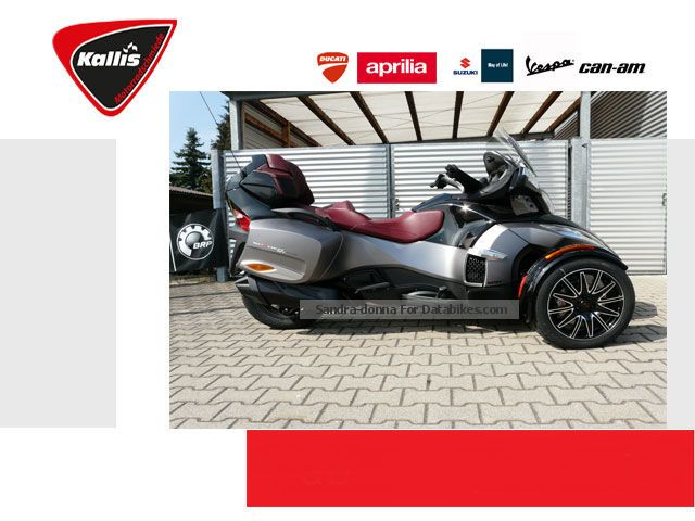 2012 Can Am  Spyder RT-S Special Series 2015 NOW AVAILABLE Motorcycle Trike photo