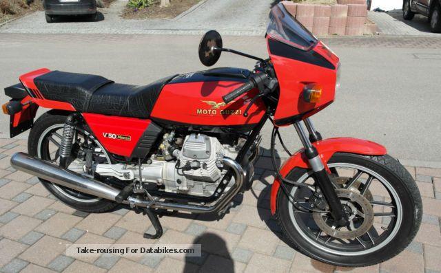 1982 Moto Guzzi  V50 Monza Motorcycle Motorcycle photo