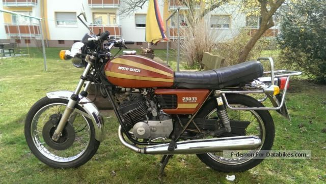 Moto Guzzi  250 Ts 1975 Vintage, Classic and Old Bikes photo