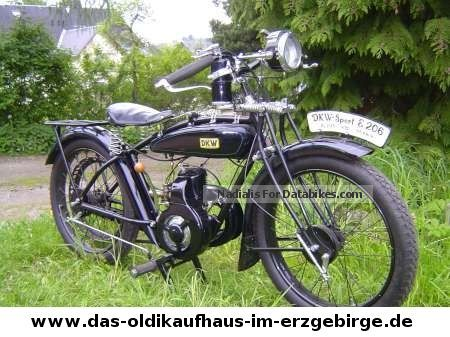 DKW  E 206 1925 Vintage, Classic and Old Bikes photo