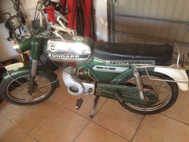 1968 Zundapp  Zündapp CS 50 Oldtimer Motorcycle Motor-assisted Bicycle/Small Moped photo