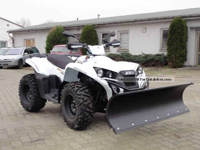 2012 Adly  Conquest 600 4x4 LOF Motorcycle Quad photo