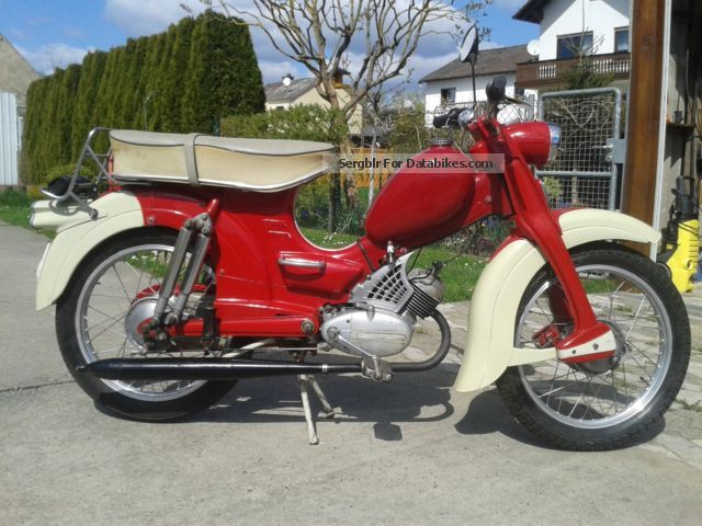 Zundapp  Zündapp Super Combinette 1961 Vintage, Classic and Old Bikes photo