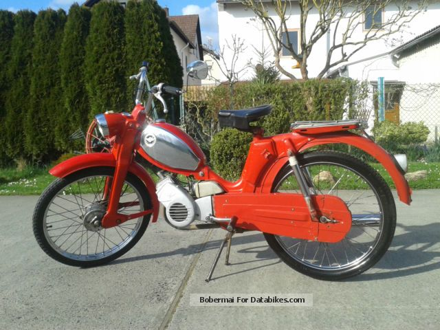 1968 Zundapp  Zündapp Mountaineers Motorcycle Motor-assisted Bicycle/Small Moped photo
