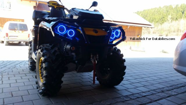 2014 Can Am  outlander Max 1000 xtp Motorcycle Quad photo