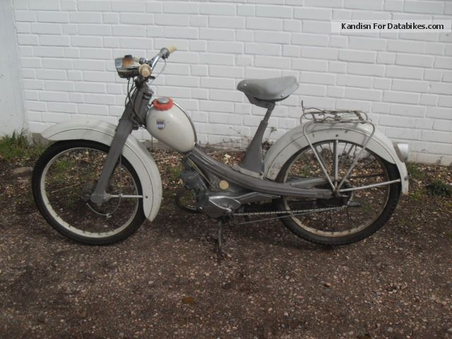 1968 NSU  Quickly Motorcycle Motor-assisted Bicycle/Small Moped photo
