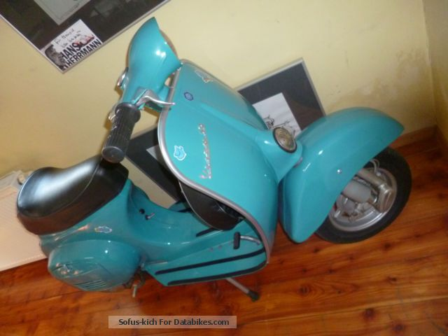 Vespa  vesap 5occm restored 4oig years old! 1975 Vintage, Classic and Old Bikes photo