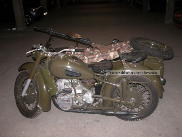Ural  MW 750 WHEEL \u0026 amp; DIFERENZIALSPERRE MILITARY CCCP 1964 Vintage, Classic and Old Bikes photo