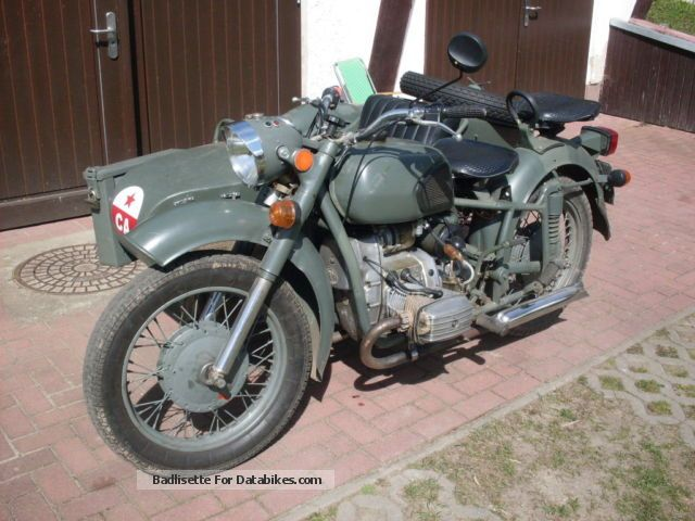 1989 Ural  Dnepr MT 11 Motorcycle Combination/Sidecar photo
