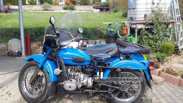 1990 Ural  650 with sidecar Motorcycle Combination/Sidecar photo