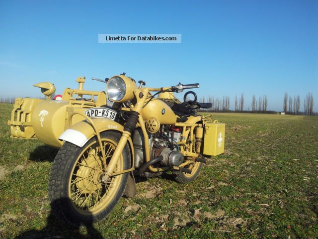 Ural  M67 Wehrmacht sidecar R75 1971 Vintage, Classic and Old Bikes photo
