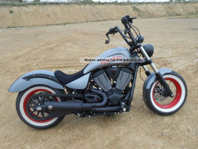 2015 VICTORY  Highball Custom Bike AS Customs Motorcycle Chopper/Cruiser photo