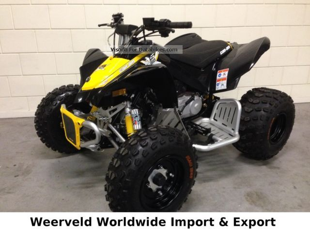 2015 Can Am  CAN-AM DS90 X PACKAGE ** NEW ** Motorcycle Quad photo