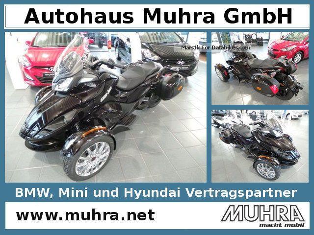 2012 Can Am  Spyder ST LTD / Navi / 4J.Garantie Limited Motorcycle Motorcycle photo