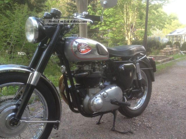1960 BSA  A10 Motorcycle Motorcycle photo