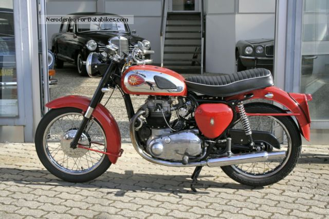 BSA  A10 Super Rocket 1962 Vintage, Classic and Old Bikes photo