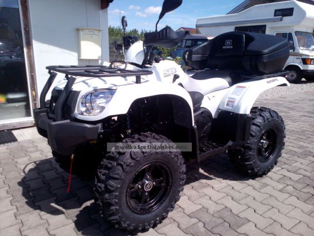 2015 GOES  520 4 x 4 wheel with lock Schneeschild NEW Motorcycle Quad photo