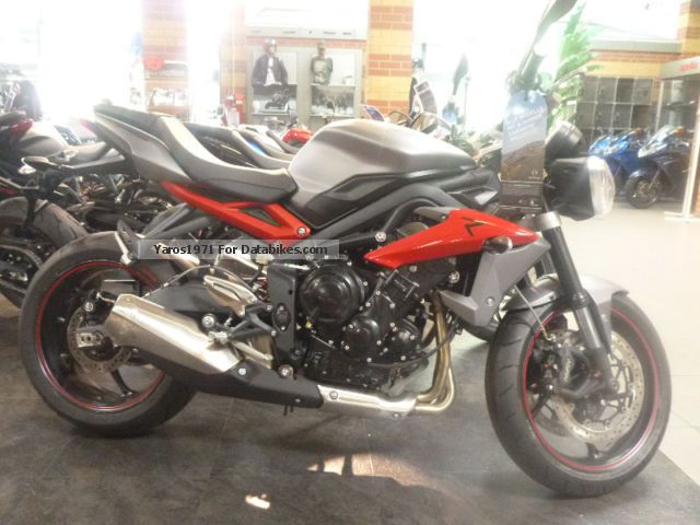 2015 Triumph  Street Triple R with 4 years warranty! * Motorcycle Naked Bike photo