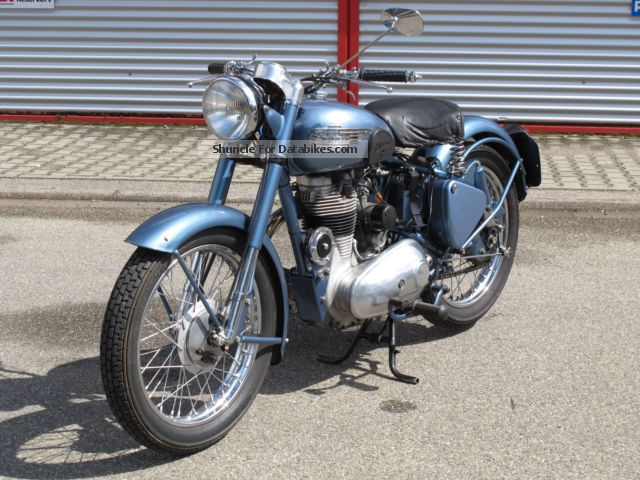 Royal Enfield  Bullet 350 1953 Vintage, Classic and Old Bikes photo