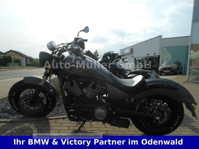 VICTORY  GUNNER WITH REMUS EXHAUST (FINANCING POSSIBLE) 2015 Chopper/Cruiser photo