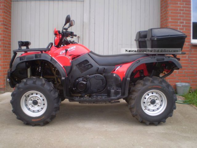 2013 CFMOTO  One 500 LoF with accessories Motorcycle Quad photo