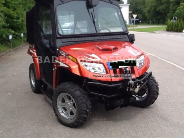 2011 Arctic Cat  AC PROWLER XTZ 1000 * incl. CABIN & amp; FRONT SCHEIB * Motorcycle Quad photo