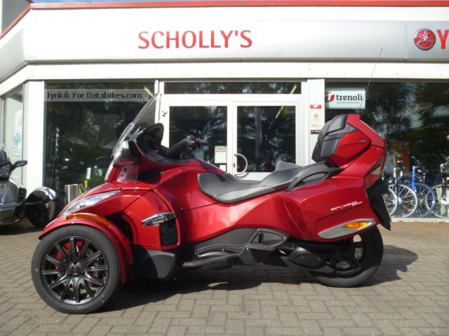 2012 Can Am  Spyder RT-S, SE6 Motorcycle Trike photo