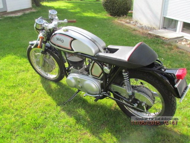Norton  ES 2, Cafe Racer in Manx Style 1959 Vintage, Classic and Old Bikes photo