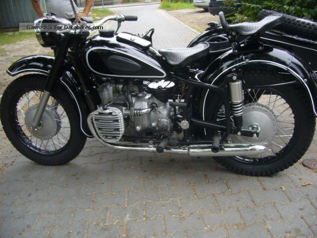 Ural  K750 MOLOTOV 1962 Vintage, Classic and Old Bikes photo
