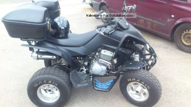 2010 CPI  250 XS Motorcycle Quad photo
