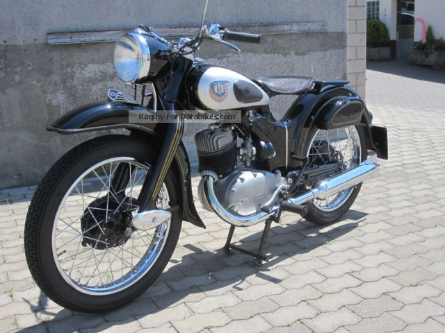 NSU  Lux 1960 Motorcycle photo