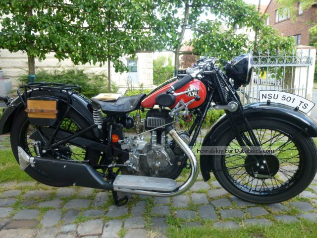 NSU  501 TS 1932 Vintage, Classic and Old Bikes photo
