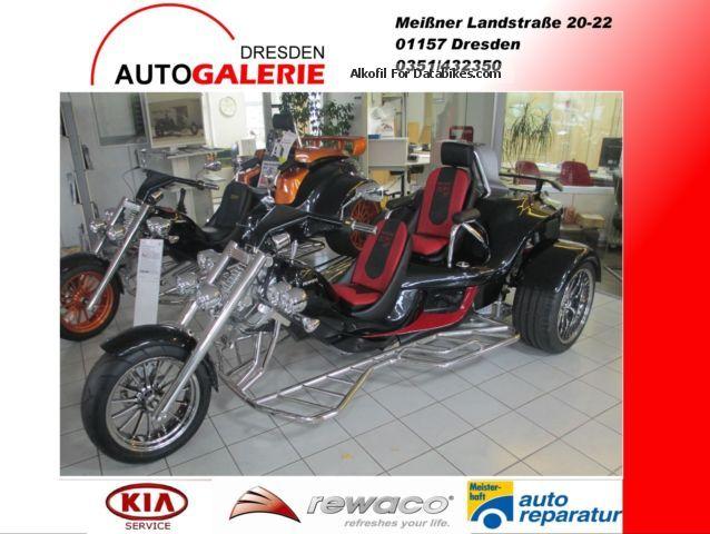 2015 Rewaco  RF1 ST-2 81KW CVTAutomatik Club, heated seats f + r Motorcycle Trike photo
