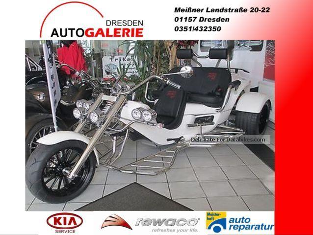 2015 Rewaco  RF1 ST-3 81KW CVTAutomatik Club, Power shifter, Motorcycle Trike photo