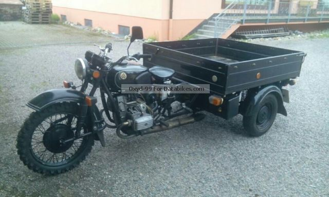 1991 Ural  Dnepr l 300 Motorcycle Trike photo