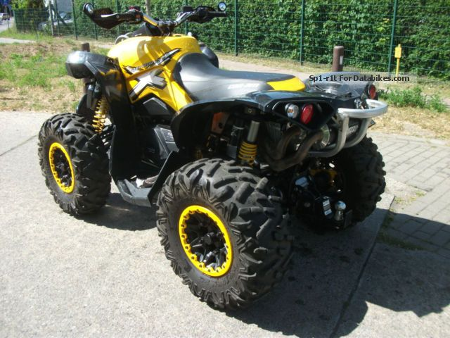 2014 Can Am Renegade 1000 Efi Xxc Lof Approval