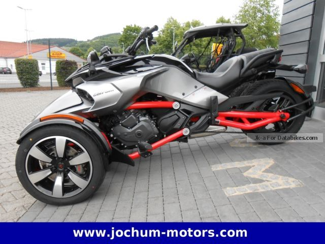 2012 Can Am  Spyder F3-S SM6 Motorcycle Trike photo