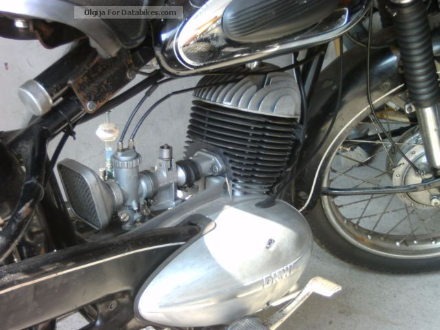 1956 DKW  RT 200-2 Motorcycle Motorcycle photo