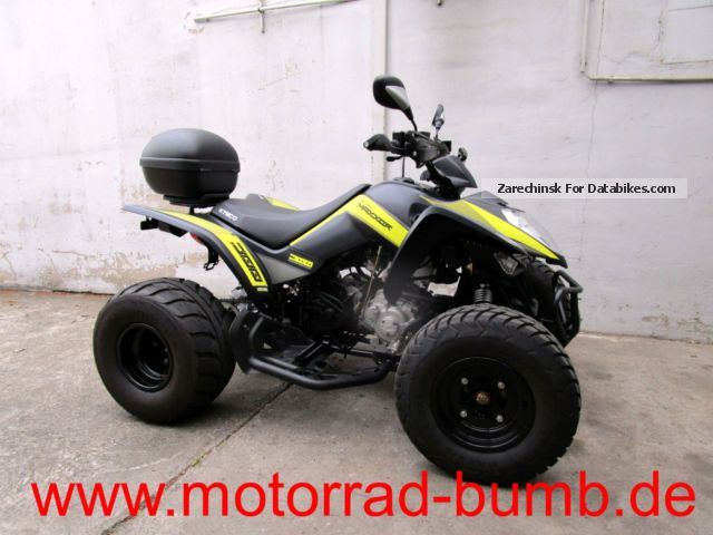 2015 Kymco  Maxxer 300 Supermoto with accessories! Motorcycle Quad photo
