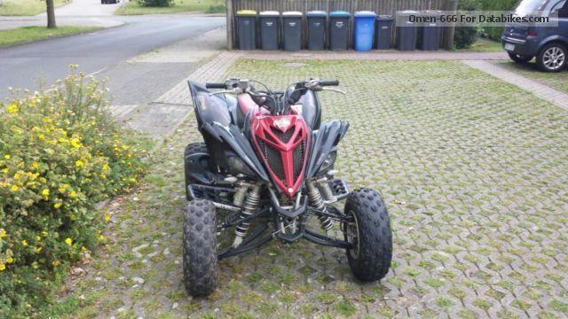 2013 Yamaha  YFM Raptor Motorcycle Quad photo