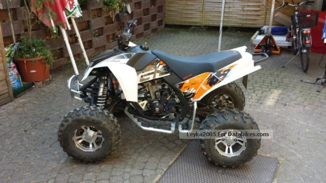 2012 e-max  Eagle Bull 300 Motorcycle Quad photo