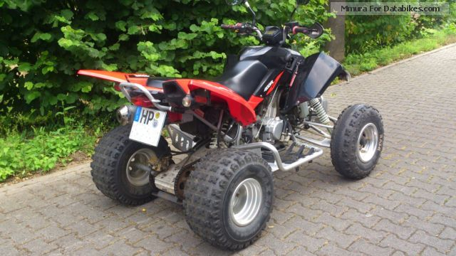 2007 triton baja 300 access burelli sp300 s quad. Black Bedroom Furniture Sets. Home Design Ideas